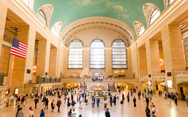 World's Most-Visited Tourist Attractions: Grand Central Terminal, New York City