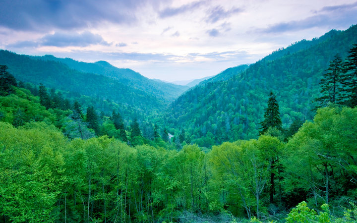 World's Most-Visited Tourist Attractions: Great Smoky Mountains National Park, North Carolina and Tennessee