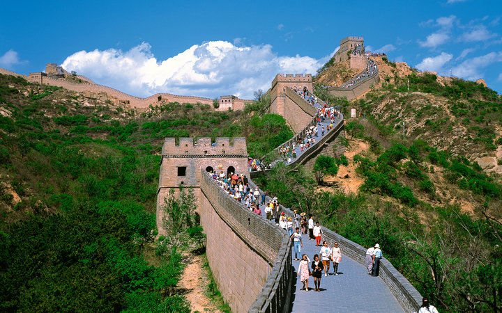 World's Most-Visited Tourist Attractions: Great Wall of China