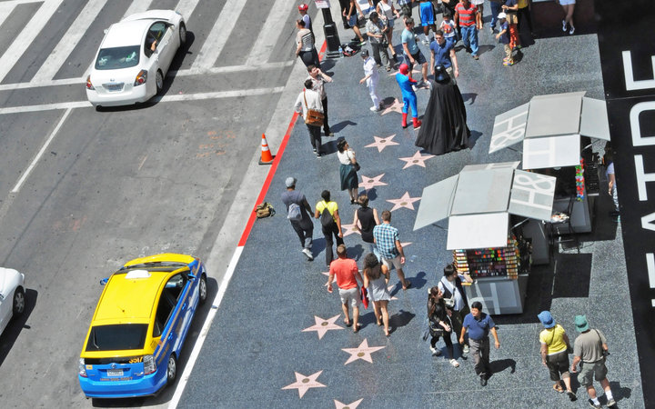 World's Most-Visited Tourist Attractions: Hollywood Walk of Fame, Hollywood, CA