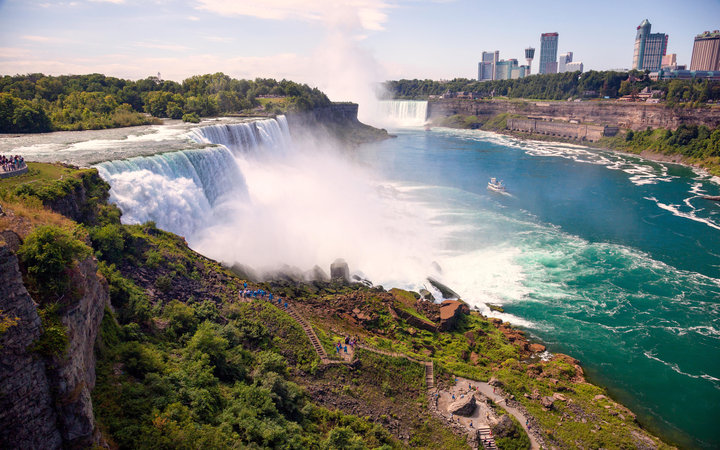 World's Most-Visited Tourist Attractions: Niagara Falls, New York and Ontario