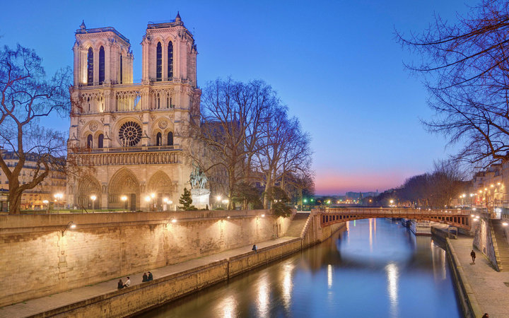World's Most-Visited Tourist Attractions: Notre Dame Cathedral, Paris