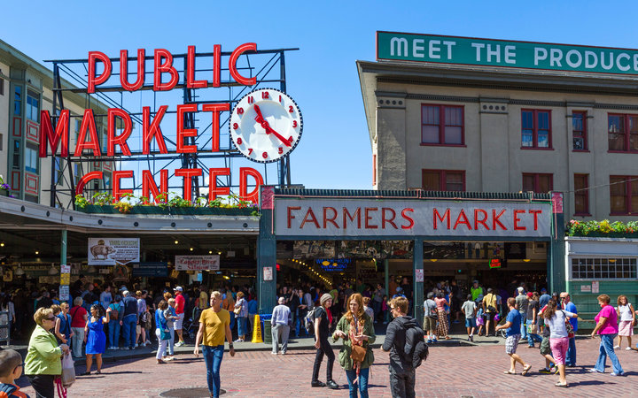 The world s most visited tourist attractions travel for Famous fish market in seattle