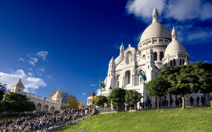 World's Most-Visited Tourist Attractions: Sacré Coeur Basilica, Paris