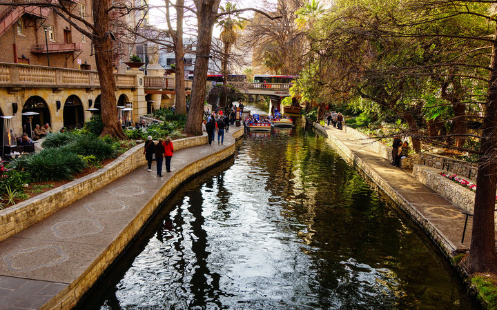 World's Most-Visited Tourist Attractions: San Antonio River Walk, San Antonio, TX