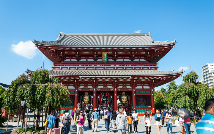 World's Most-Visited Tourist Attractions: Sensoji Temple, Tokyo