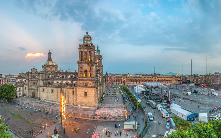 World's Most-Visited Tourist Attractions: The Zócalo, Mexico City