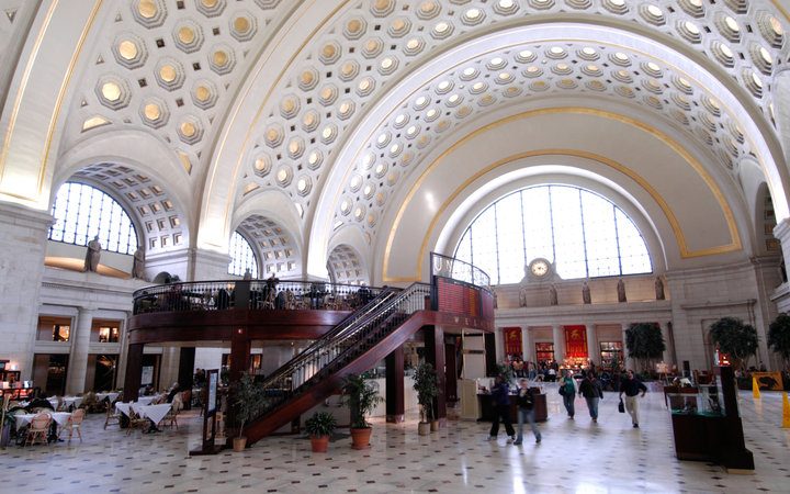 World's Most-Visited Tourist Attractions: Union Station, Washington, D.C.