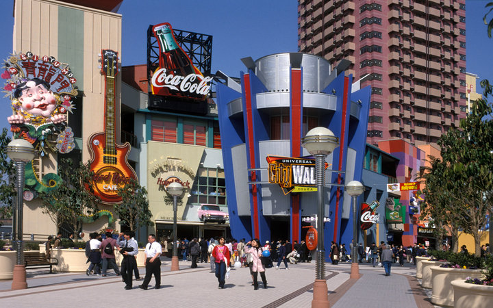 World's Most-Visited Tourist Attractions: Universal Studios Japan, Osaka, Japan