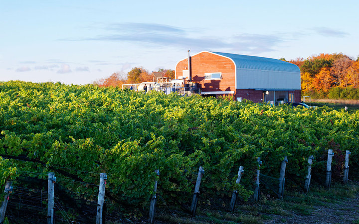 Norman Hardie Winery on Prince Edward Island