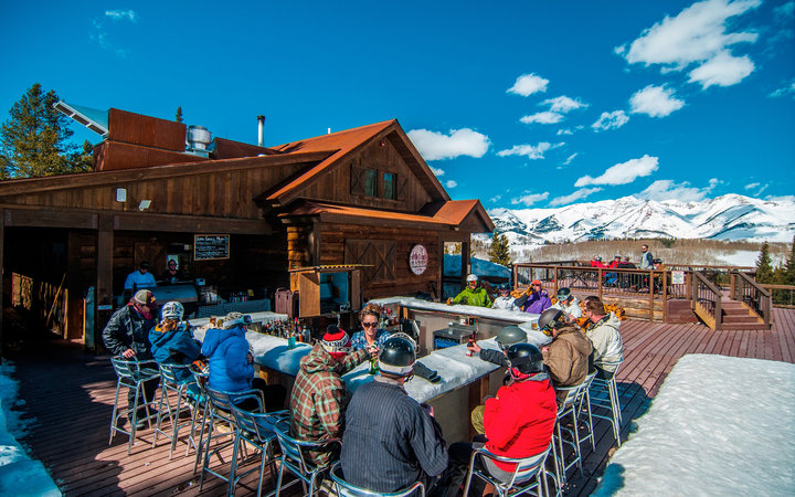 The Ice Bar At Uley S Cabin Crested Butte Mountain Resort