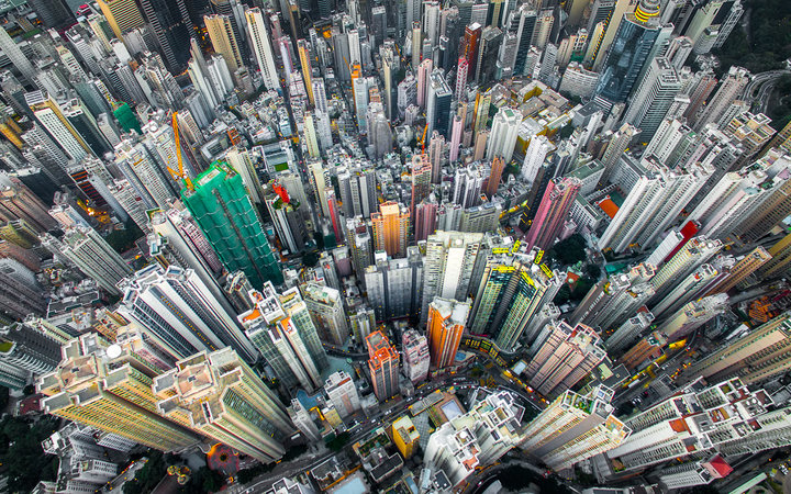 Andy Yeung Drone Photo of Hong Kong Urban Jungle