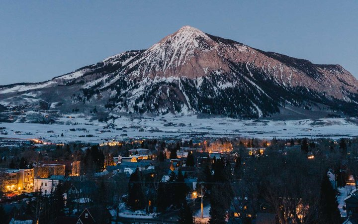 Crested Butte, Colorado, at night