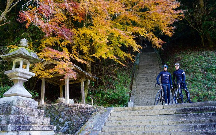 Cycling trip in Japan with DuVine