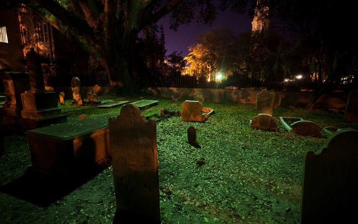 Ghosts and Graveyard Tour