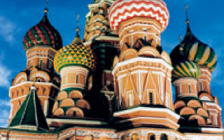 Andrea Fazzari St. Basil's Cathedral in Red Square