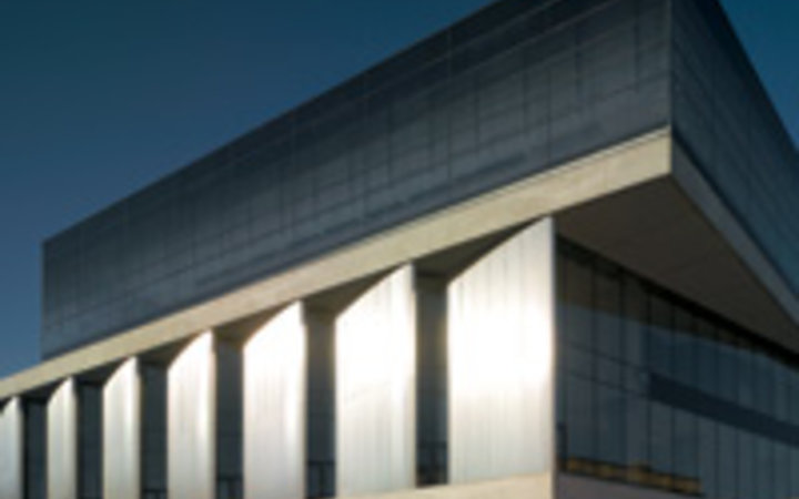 Christian Richters The modern exterior of the New Acropolis Museum, in Athens.