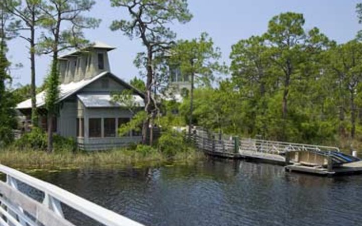 lake house at WaterColor Inn & Resort at Santa Rosa Beach, FL