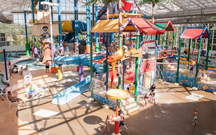 Big Splash Adventure Indoor Waterpark in French Lick, IN