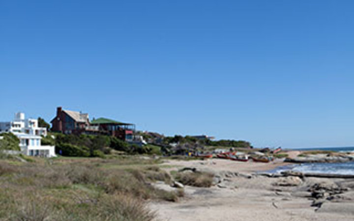 beach homes on the coast in Uruguay