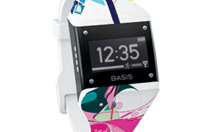 Basis Carbon Steel Edition pedometer