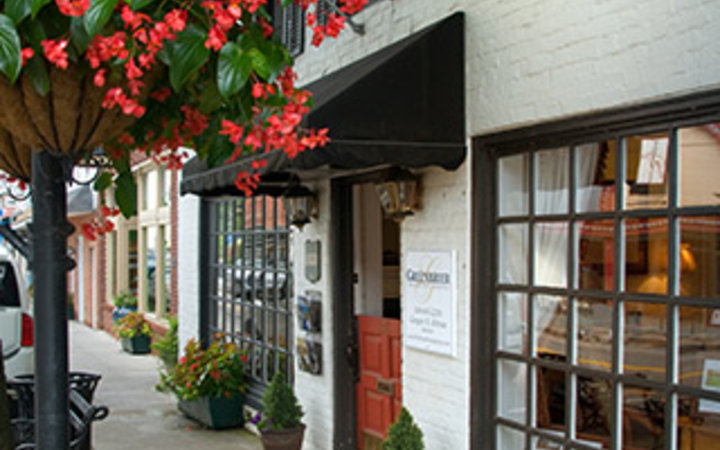 storefront in downtown Lewisburg, WV
