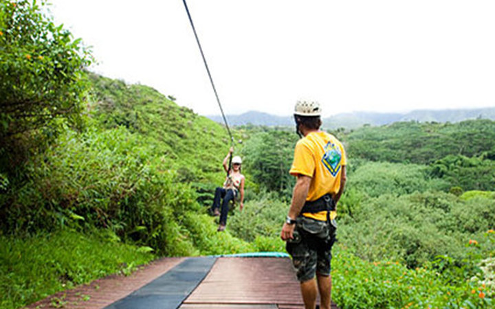 Best Ziplining on Maui