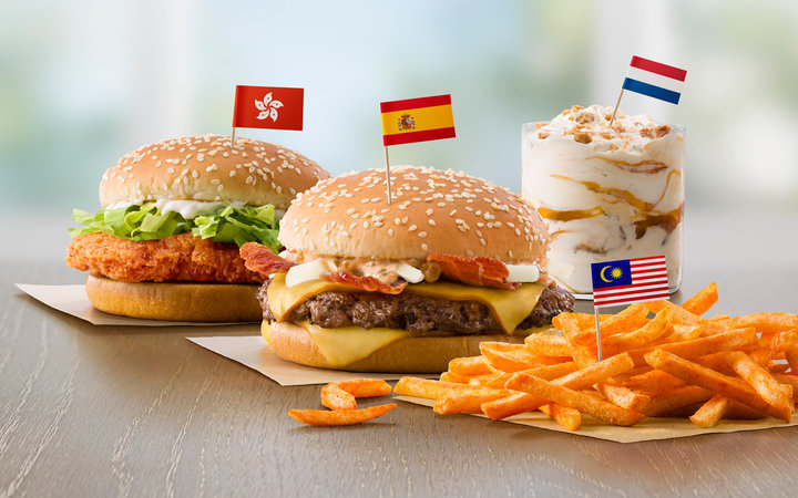 McDonald's to Add Four International Menu Items Nationwide