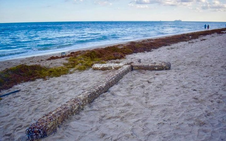 Fort Lauderdale Beach Cross