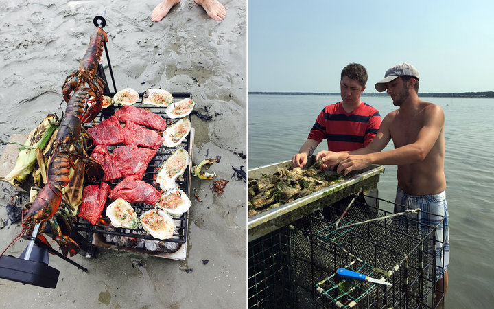 Oyster Foraging Dinners with Chef Coe