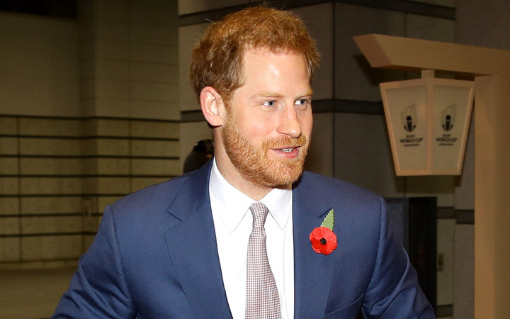 Prince Harry Flys Commercial to Japan