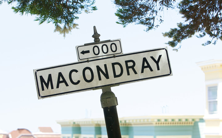 Macondray Street in San Francisco