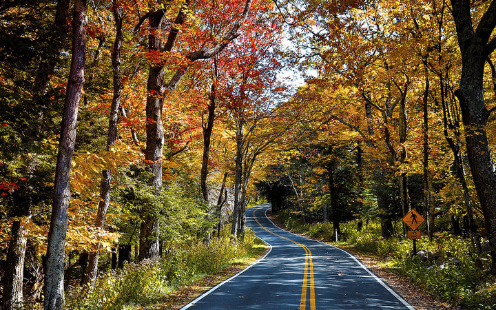 America S Best Fall Foliage Drives Travel Leisure