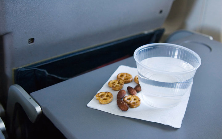 Airplane snacks