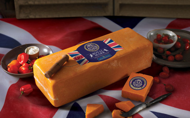 Westminster Royal Mark red cheddar cheese