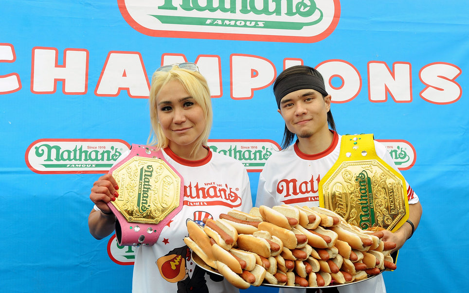 Texas State Fair Hot Dog Eating Contest