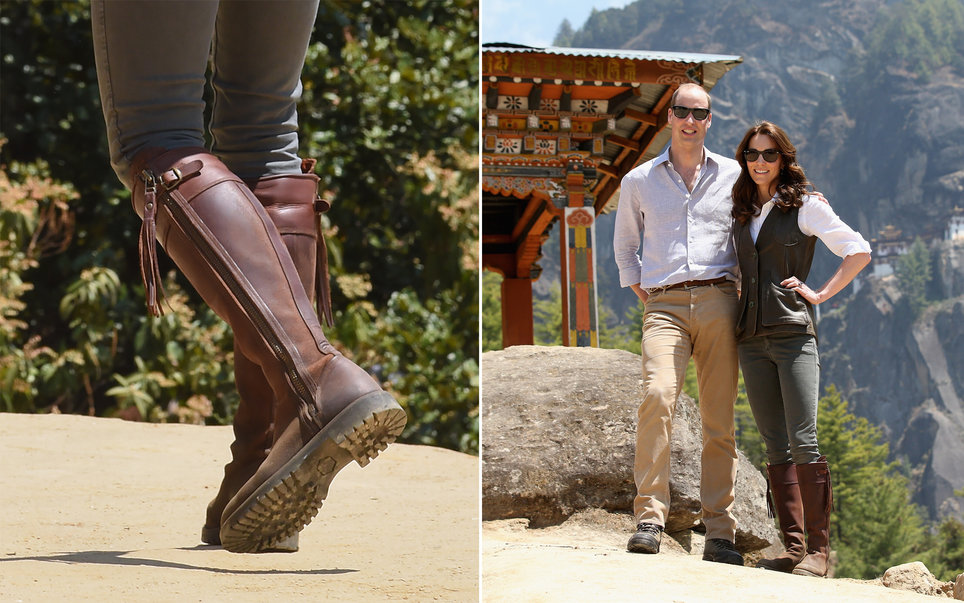 Well Made Knee-High Riding Boots