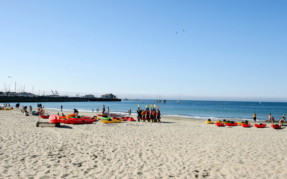 Del Monte Beach, Monterey, California