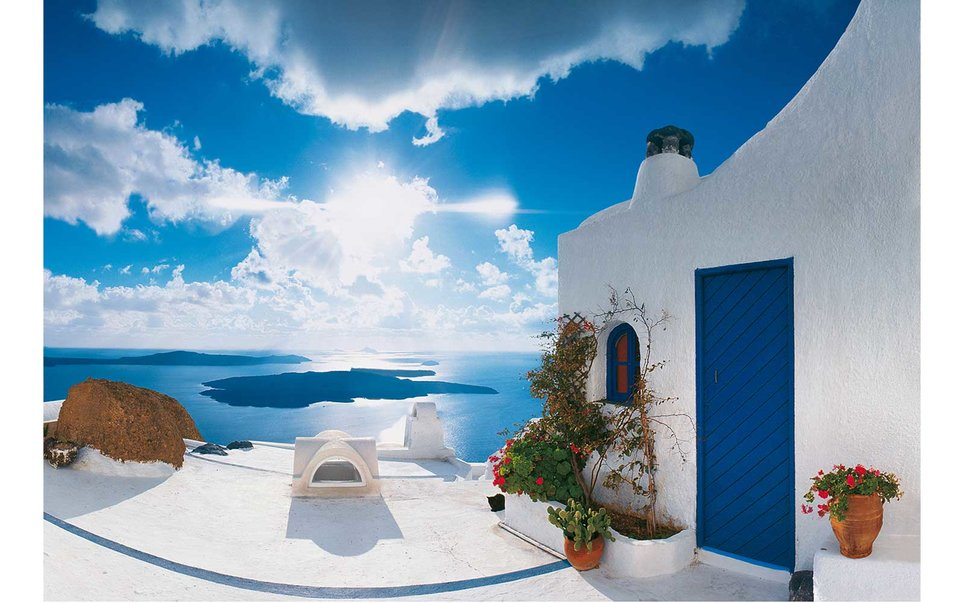 How to Decorate Your Home Like a Santorini Hideaway   %name