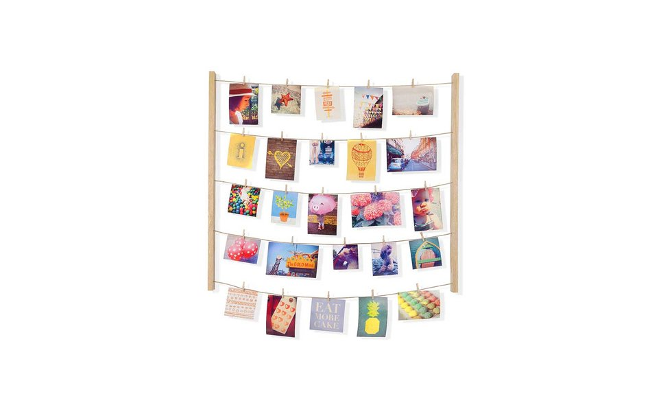 Clothespin Photo Display, Bed Bath & Beyond