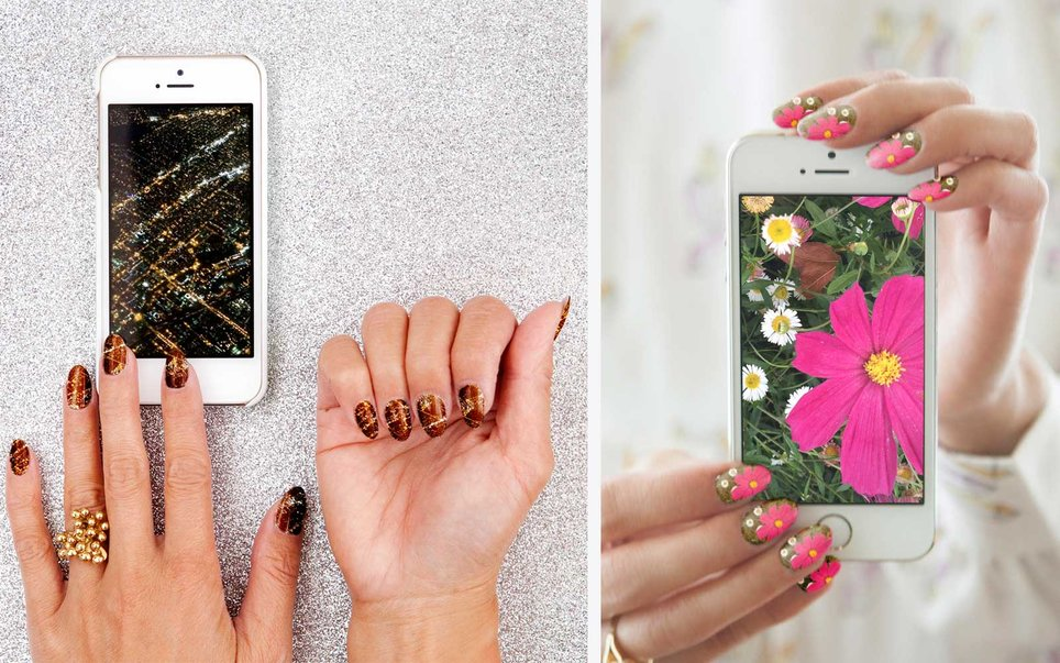 Put them on your nails; yes, really
