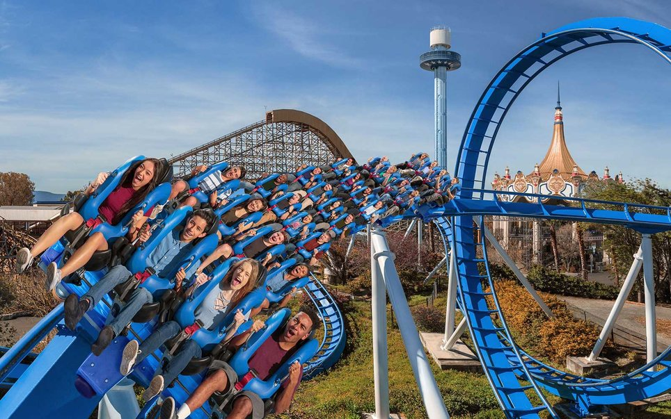 California's Great America — Patriot Floorless Coaster