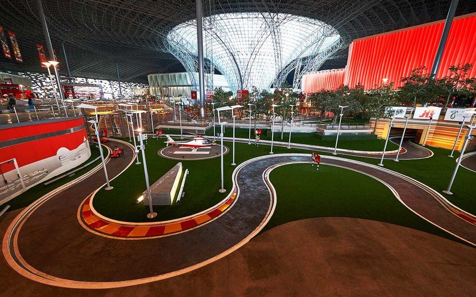 Ferrari World, United Arab Emirates — Mission Ferrari