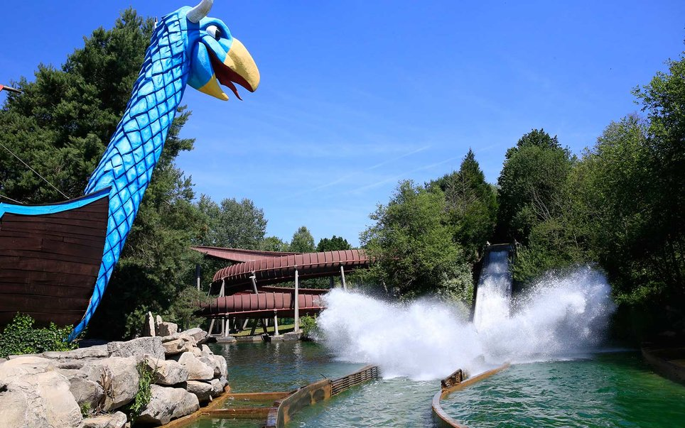 Parc Asterix, France — Pegase Express