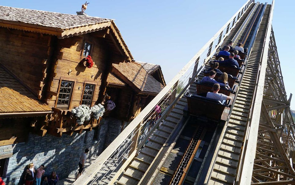 Plopsaland de Pamme, Belgium — Heidi The Ride