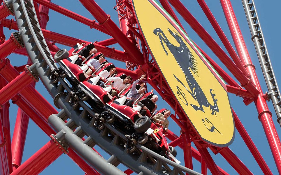 Port Aventura, Spain — Red Force