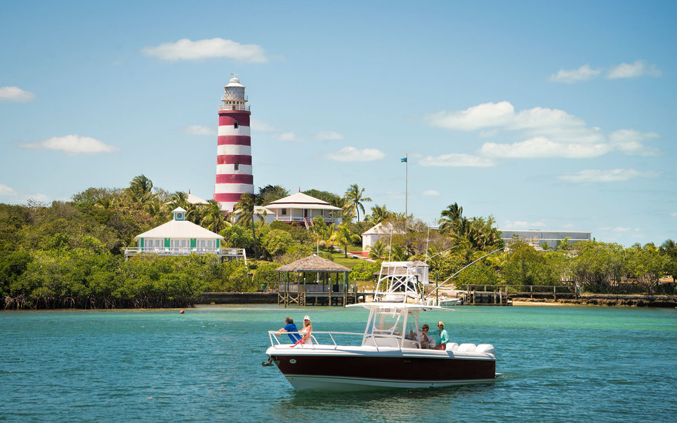 Lighthouse, Elbow Cay, Hope Town, Abacos islands, Bahamas