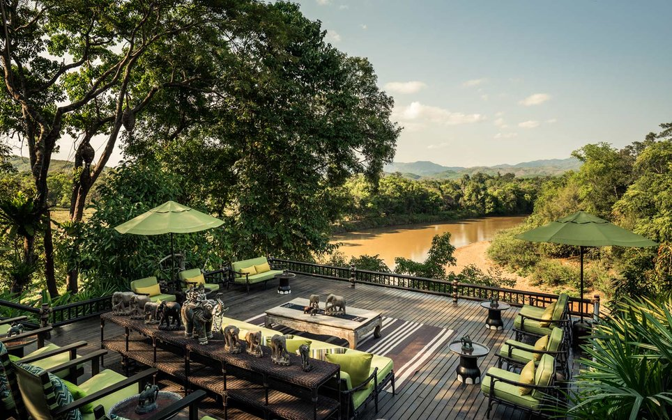 31. Four Seasons Tented Camp Golden Triangle, Chiang Rai, Thailand
