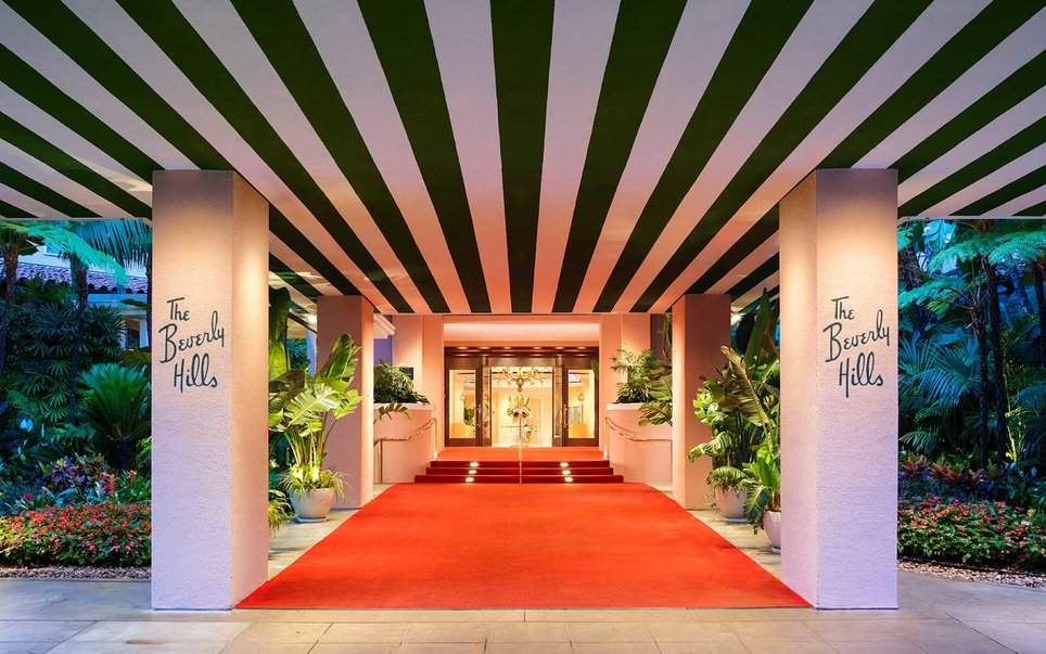 The Beverly Hills Hotel in Greater LA