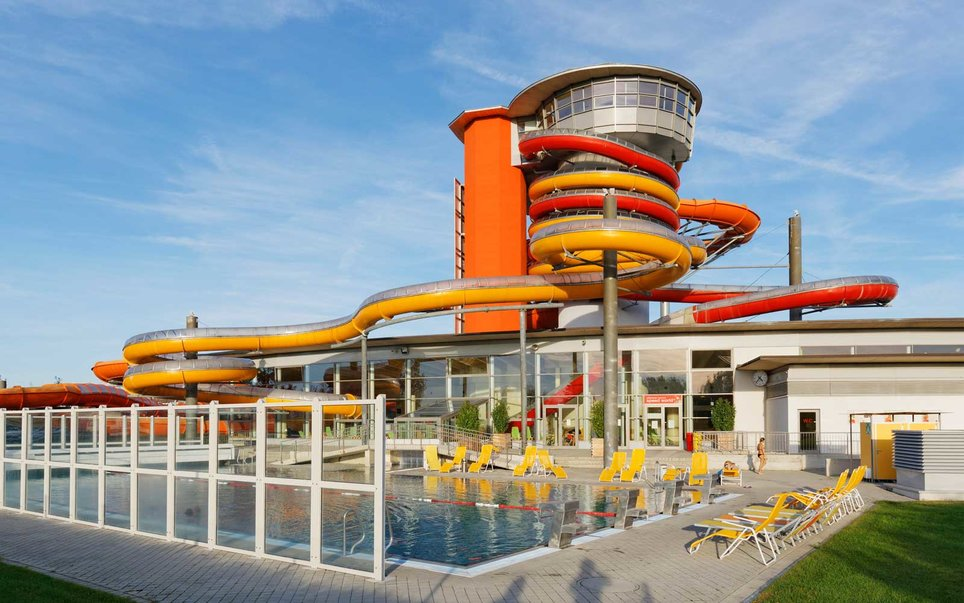 Twister and Speedy— Sonnentherme Lutzmannsburg Thermal Spa, Austria